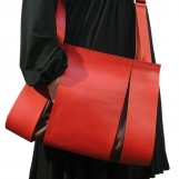 Maria Hees | Split bag red