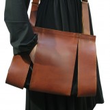 Maria Hees | Split bag brown