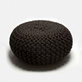 Urchin Pouf donker bruin