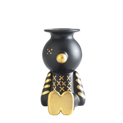 Pinocchietto kandelaar zwart