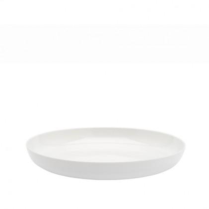 s.b. 16 diep bord wit geglazuurd
