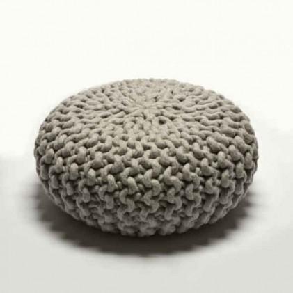 Urchin Pouf lichtgrijs