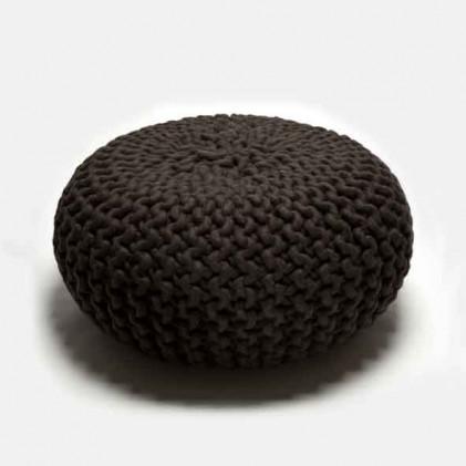 Urchin Pouf donkerbruin